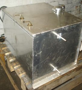 A custom built fuel tank